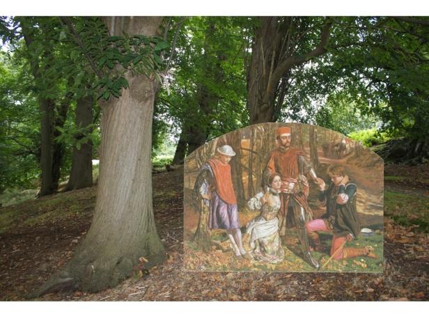 3 Pre-Raphaelites at Knole.003