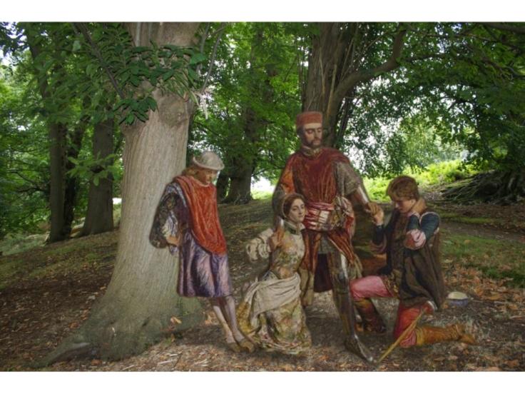 4 Pre-Raphaelites at Knole.004
