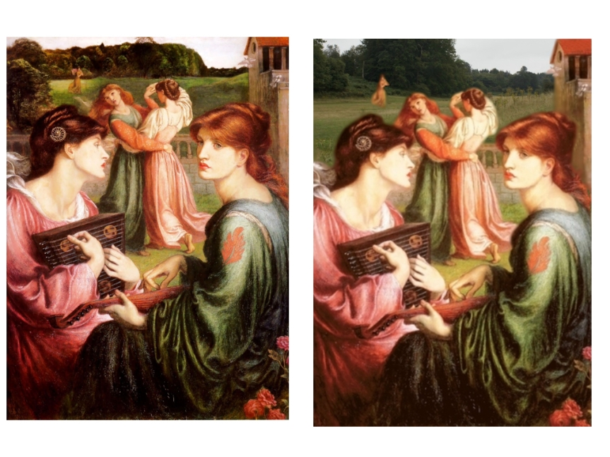 Pre-Raphaelites at Knole.010