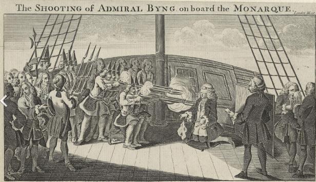 John Byng Execution