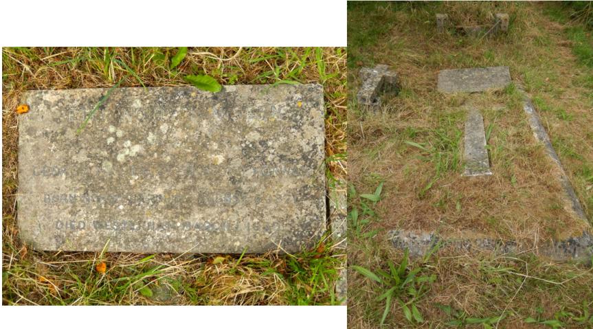 Grave in 2012