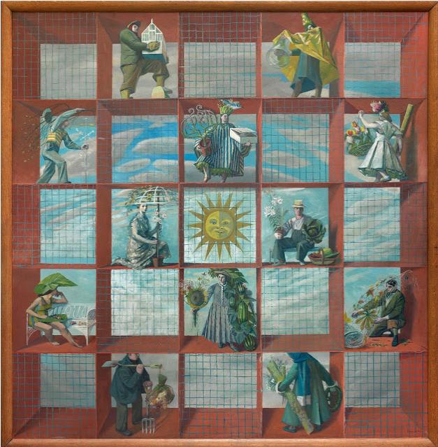 English Calendar 1938 Screen