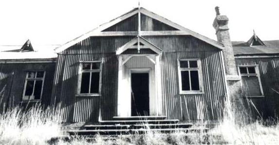 Iron hut