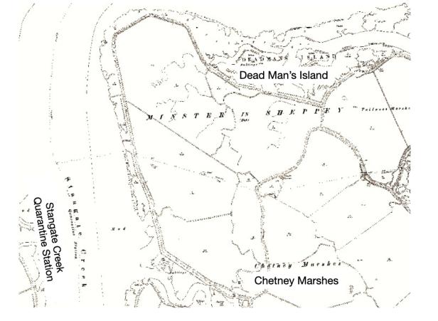 Standgate Creek Map