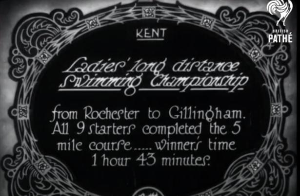 1928 Swimming Contest