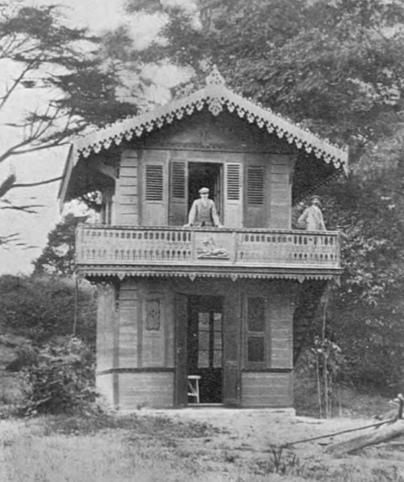 Chalet in its better days