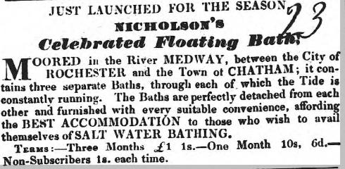 Floating baths