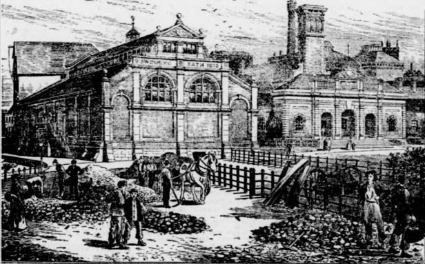 Maidstone Swimming Baths 1895