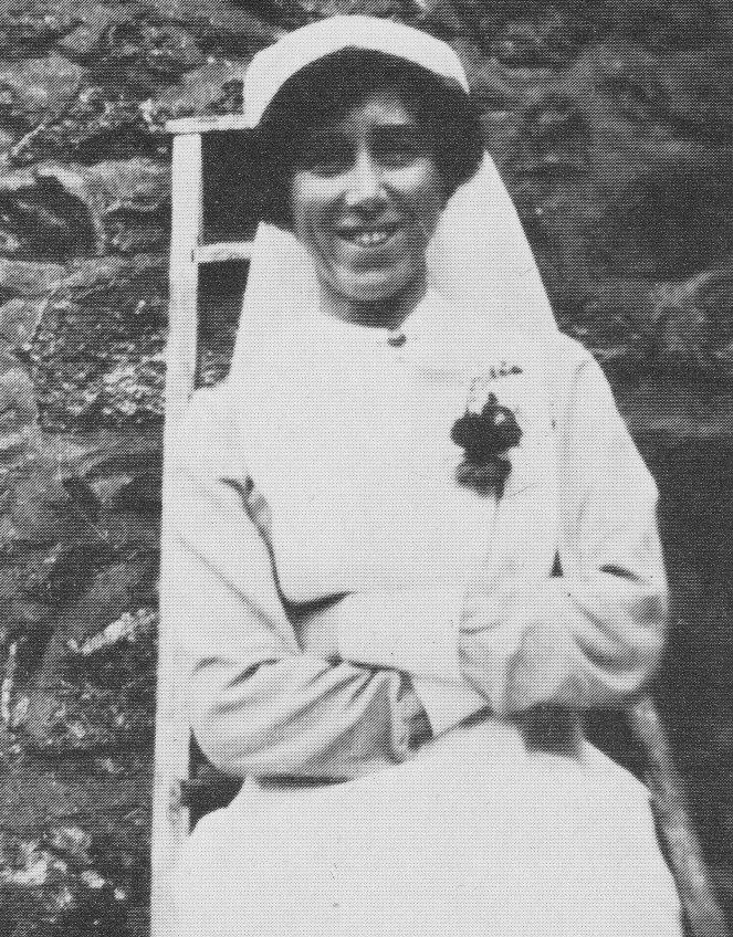 May Birley as WW1 nurse