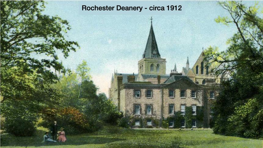 Rochester Deanery 1912