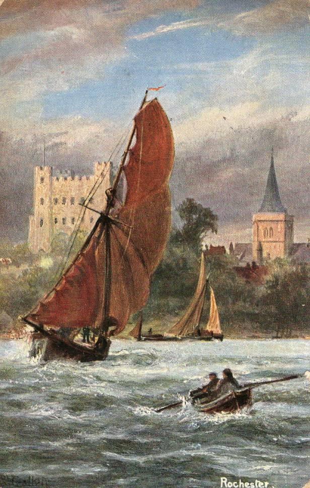 Boat on Medway