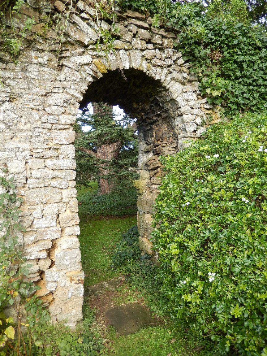 Boxley Abbey doorway