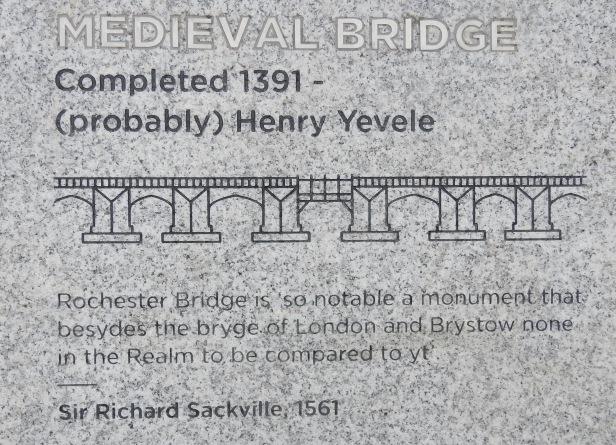 Medieval bridge street