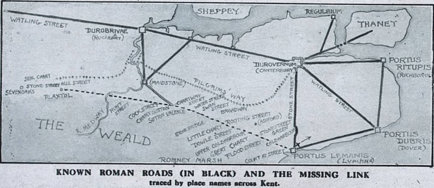 Roman Routes The Graphic 3 Sept 1921 Donald Maxwell