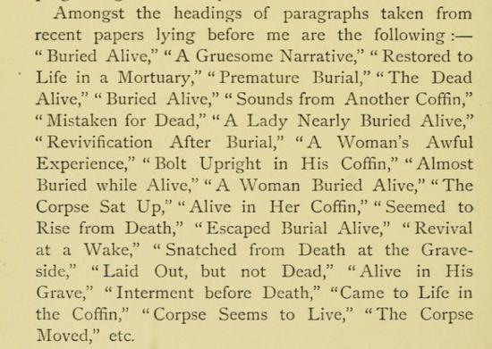 Death headlines